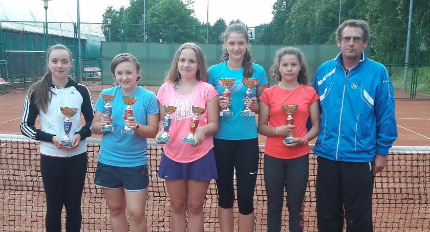 tenis ziemny, Szczecineccy tenisiści ziemni formie - zdjęcie, fotografia