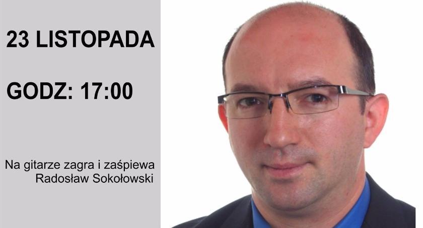 Spotkanie autorskie Andrzeja Sochaja - zaproszenie