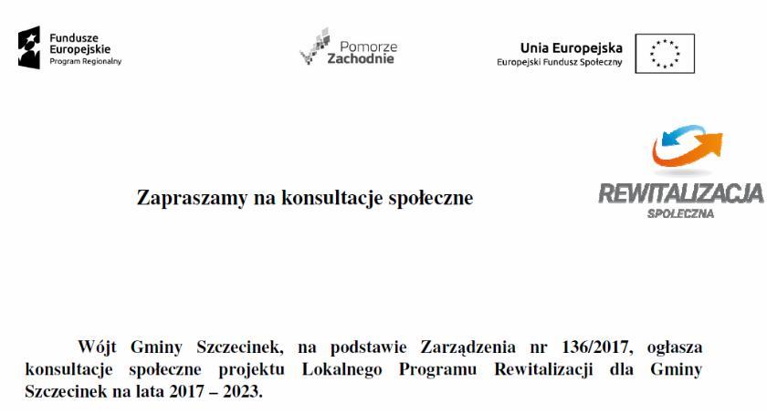 Gmina, Rewitalizacja Gminy Szczecinek zaproszenie konsultacje społeczne - zdjęcie, fotografia