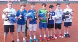 Młodzi tenisiści spotkali się w Szczecinku