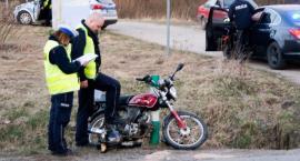 Coraz więcej wypadków wśród motocyklistów