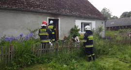 Pożar w Starym Grabiążu