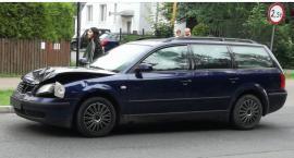 Zderzenie pojazdów na ulicy Mickiewicza
