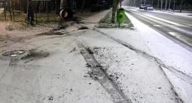 Spadł śnieg. Zaskoczeni nie tylko drogowcy
