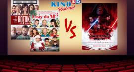 Kino Wolność: Botoks: 5000 widzów, Listy do M: 5300 widzów. Star Wars pobiją rekord?