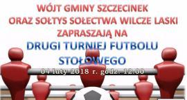 Drugi Turniej Futbolu Stołowego. Zaproszenie