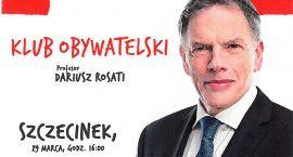 Dariusz Rosati w Szczecinku