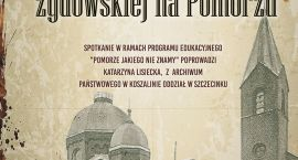 Historia ludności żydowskiej na  Pomorzu. Zaproszenie